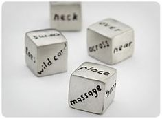 Gifts for HIM and HER! Get Lucky Dice. Perfect for Valentine's Day! #wishlist