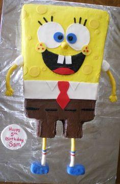 Bildergebnis für sponge bob torte