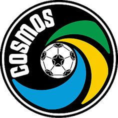 The New York Cosmos are a world-renowned soccer club playing in the National Independent Soccer League. North American Soccer League, Major League Soccer, Canada Soccer, Badges, New York Cosmos, Jorge Martinez, American Logo, Giants Stadium, Soccer Logo