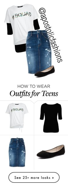 """Apostolic Fashions #1402"" by apostolicfashions on Polyvore featuring Vivienne Westwood Anglomania, New Look, Dsquared2, Verali, modestlykay and modestlywhit"