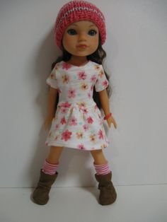 Hearts 4 Hearts Doll Clothes Dots Black/White by 123MULBERRYSTREET, $26.00