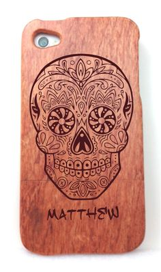 Personalized Skull Candy  Day of the Dead Designed di ULEKstore, $29.95