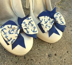 Hey, I found this really awesome Etsy listing at https://www.etsy.com/listing/252994495/cute-sailer-shoe-clips-wedding-shoe