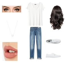 """""""Untitled #14"""" by skaur-i on Polyvore featuring rag & bone, H&M, Vans, Charlotte Tilbury and Tiffany & Co."""