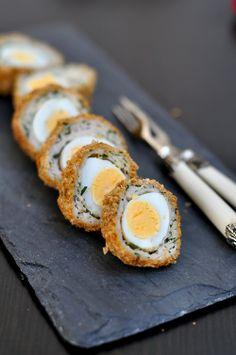 Spring Equinox:  Quail Scotch Eggs,