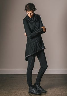 Twisted legging black | Sustainable Fashion