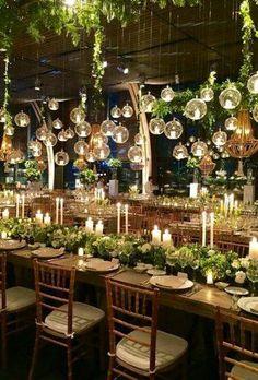 Personalized Wedding Gifts, wedding decor of glass orbs, terrarium style, tea lights Wedding Themes, Wedding Designs, Wedding Venues, Wedding Programs, Wedding Locations, Whimsical Wedding Theme, Decor Wedding, Destination Wedding, Prom Decor