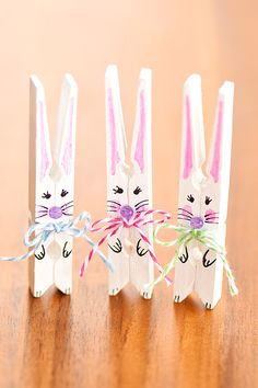This list of simple Easter crafts for kids is absolutely adorable! From egg carton chicks to cotton ball bunnies there are tons of Easter craft ideas here! Easter crafts Simple Easter Crafts for Kids - One Little Project Bunny Crafts, Easter Crafts For Kids, Toddler Crafts, Crafts Toddlers, Children Crafts, Easter Ideas, Craft Stick Crafts, Crafts To Make, Craft Ideas
