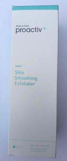 Lot of 2 NIB Proactiv+ Skin Smoothing Exfoliator 6 oz 177 ml 11/16 and 01/17 #Proactiv