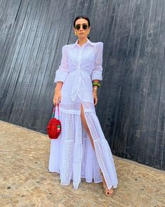 with with ・・・ Which one 👉 - Holiday Dresses, Holiday Outfits, Everyday Dresses, Spring Street Style, White Outfits, Feminine Style, Cheap Dresses, Fashion 2020, Ideias Fashion