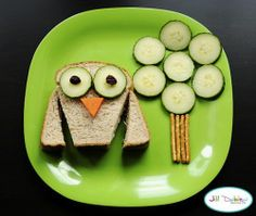Cute Food! Owl! Tree!