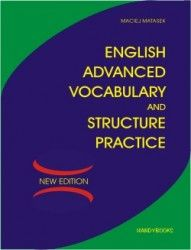 English advanced vocabulary and stucture practice