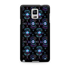 Evil Eyes Black For Samsung Galaxy Note 4 Case