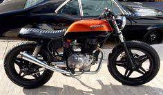 Cb400 Cafe Racer, Cafe Racer Honda, Cafe Racer Bikes, Cafe Racer Motorcycle, Honda Cb250, Honda Nighthawk, Old Honda Motorcycles, Vintage Motorcycles, Cb 450