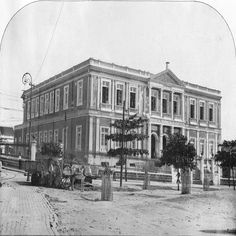 Ginásio Amazonense. Manaus. Álbum do Amazonas 1901-1902.