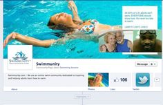 Great Facebook page for new adult swimmers! http://www.facebook.com/swimmunity