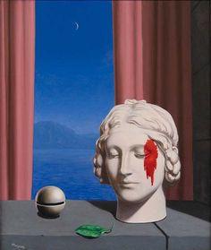 René Magritte: La mémoire, 1948.
