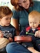 Family Music Class Houston, TX -- Brookie and her daddy will love this!