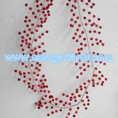 crystal Round Beaded Branch