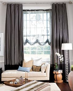 1000 Images About Curtains On Pinterest Drapery Panels