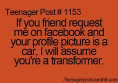 funny sunday posts | ... Posts. If you did let me know and I will make a Teenager Posts Part 2