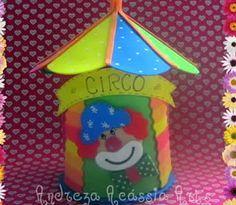 Molde Grátis De Eva Circo Molde De Lembrancinha Circo Em Eva Para