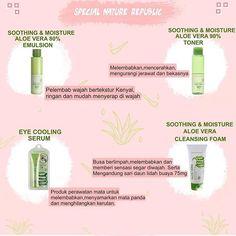 Beauty Care, Beauty Skin, Nature Republic Aloe Vera, Beauty Secrets, Beauty Hacks, Aloe Vera Skin Care, Skin Care Treatments, Healthy Beauty, Face And Body