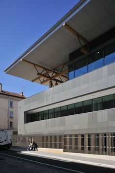 Gautier+Conquet Architectes, Studio Erick Saillet · MéMO · Divisare Lyon, Cities, Studio, Outdoor Decor, Home Decor, City, Decoration Home, Room Decor, Studios