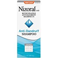 Nizoral A-D Anti-Dandruff Shampoo, 7 Fl. Hair Dandruff, Dandruff Remedy, Shampoo For Itchy Scalp, Anti Dandruff Shampoo, Clarifying Shampoo, Medicated Dog Shampoo, Hair Scrub, Flaky Scalp