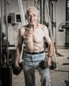 90 Year Old Weight Lifter