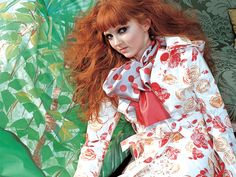 OLIVE des OLIVE #fashion #lilycole #model #cute #beautiful #girl #fashionphoto #korean #olivedesolive #summer Red Hair Model, Allen Collins, Lily Cole, British Fashion Awards, Olive, Lily James, Vogue Covers, Fair Skin, Top Models