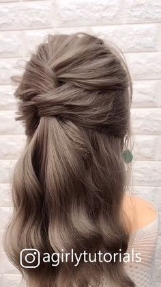 12 Tutorials Braid Hair You Can Do Yourself Part - decoratingstyle.- - 12 Tutorials Braid Hair You Can Do Yourself Part – decoratingstyle. Step By Step Hairstyles, Easy Hairstyles For Long Hair, Long Hair Buns, Easy Ponytail Hairstyles, Hairstyles With Braids, Simple Hairstyles For Medium Hair, Hairstyles For Women, Simple Wedding Hairstyles, Spring Hairstyles