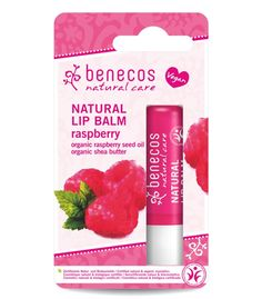 Natural Lip Balm - Lampone - Benecos