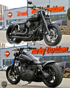 Harley Davidson Fat Bob Customized By Thunderbike