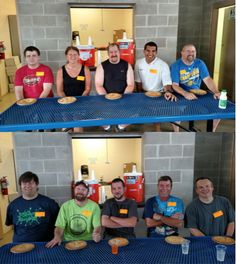 Annual Hal Leonard Picnic 2016: The Pie Eating Teams are ready for game day!
