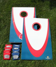 Another great find on #zulily! Backyard Edition Corntoss Bean Bag Game by Driveway Games #zulilyfinds