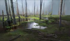 ArtStation - Forest, Yuze Bai