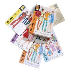 McCall's Step-by-Step Patterns Note Cards