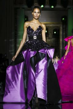 Cindy Bruna for Zuhair Murad Haute Couture SS 2017