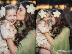 Mother & Daughter Maternity Portraits by Jonathan Ivy Photography