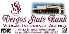 vergas, mn pictures | Vergas State Bank, Vergas Minnesota