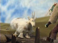Three Billy Goats Gruff stop motion short video