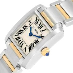 Cartier Cartier Tank Francaise Steel Yellow Gold Quartz Ladies Watch W51007Q4