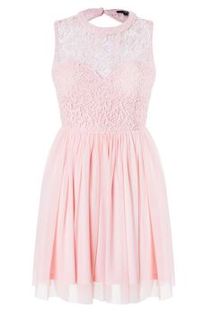 #stylish #pastel #pink #lace #dress #TALLYWEiJL #musthave http://www.tally-weijl.net/p/dresses-jumpsuits/rosa-skater-kleid-mit-ruckenausschnitt/sdrlaplaiz-pnk099?categoryId=21569