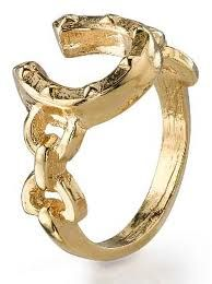 House of Harlow 1960 - Horseshoe Ring