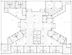 oncology center floor plans | ... oncology intake, reflected ceiling ...