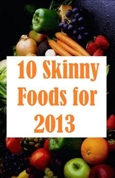 Looking for creative and #slimming ways to fulfill your New Year's resolution or shed unwanted holiday padding? You've hit the diet jackpot with this collection of strategic, #skinny eats.   Here are 10 tasty bites that will help you stay full and satisfied while enhancing your weight loss efforts.... http://slimmingtips.givingtoyou.com/10-skinny-foods