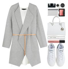 """#1065 Janet"" by blueberrylexie ❤ liked on Polyvore featuring Smashbox, Proenza Schouler, Vanessa Bruno, adidas, Bare Escentuals, Michael Kors, NARS Cosmetics, Bobbi Brown Cosmetics and Christian Lacroix"
