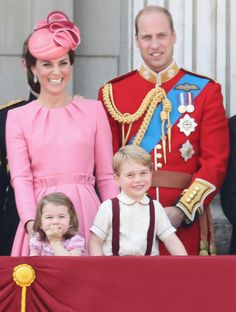 Princess Charlotte and Prince George were too adorable at the Trooping the Colour celebration.