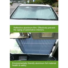 AUTOMOBILE WINDSHIELD PROTECTION - Time is not always an ally when you are in a car. #automobile #windshield #car #caraccessories Windshield Shade, Starting A Daycare, Car Sun Shade, Car Logos, Rear Window, Health And Safety, Easy Projects, Cool Gadgets, Car Accessories